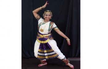Kavya Francis bharatanátjam táncelőadása/Bharatanatyam dance performance of Ms. Kavya Francis