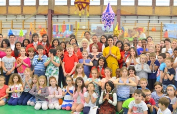 India Day at Orchidea International School on 26 April, 2018