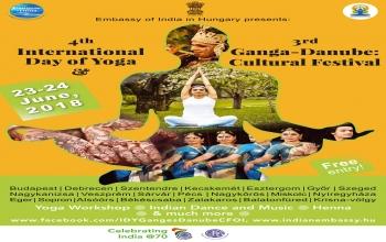 4. Nemzetközi Jóga Nap és 3. Gangesz-Duna: Indiai Kulturális Fesztivál