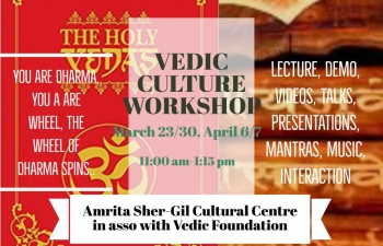 CYCLE OF INDIAN CULTURE WORKSHOPS