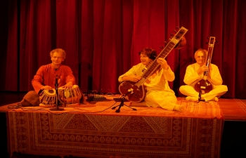 A Calcutta Trio koncertje / Concert by Calcutta Trio
