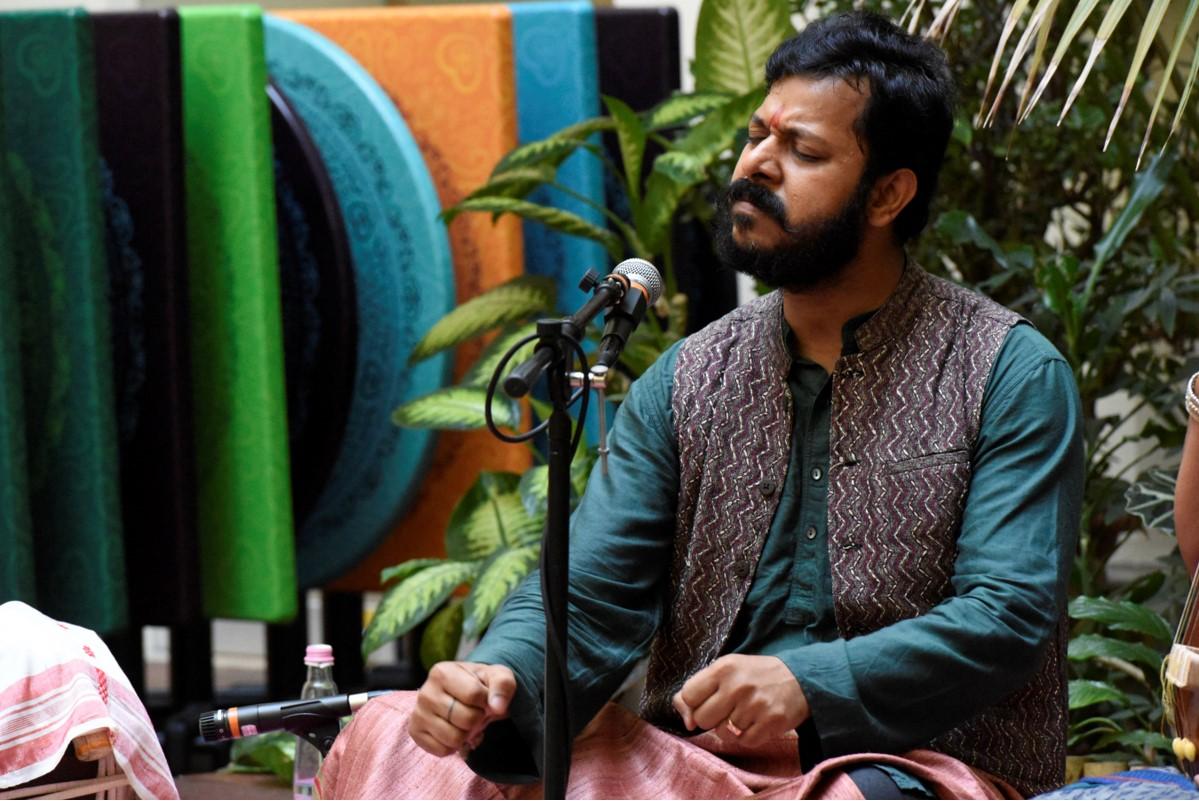 Sumeet Anand Pandey (Dhrupad) és Virágh Balázs (Pakhawaj) koncertje