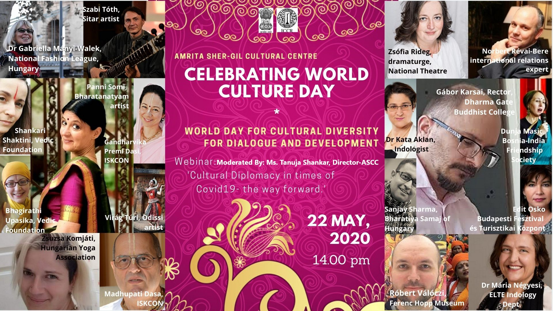World Culture Day I The Way Forward