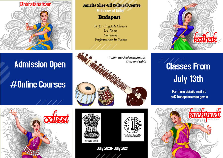 Admission Open for Online Courses
