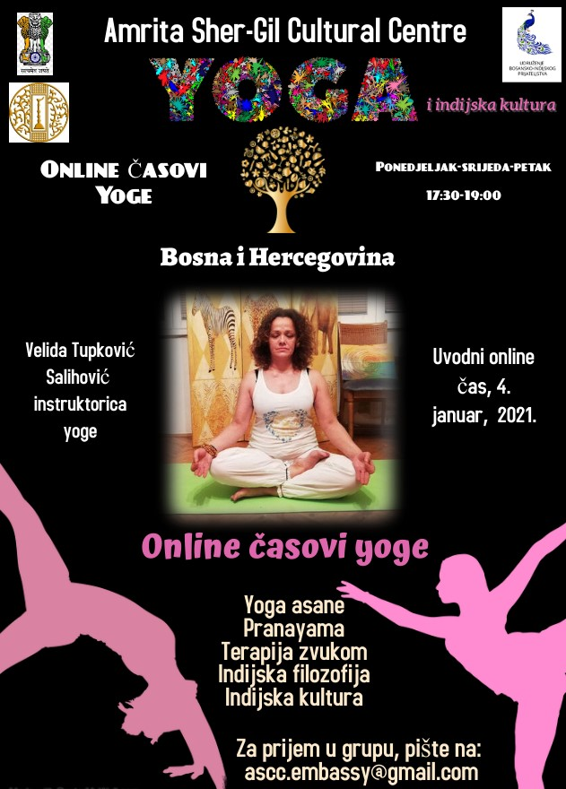 Online Yoga Classes for Bosnia & Herzegovina