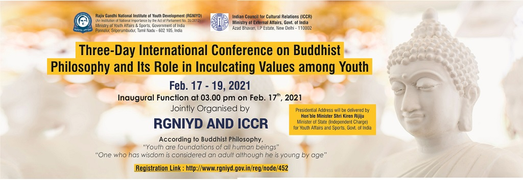 """Buddhist Philosophy and Its Role in Inculcating Values among Youth"""