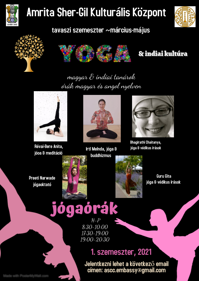 New Semester Online Yoga Course 2021