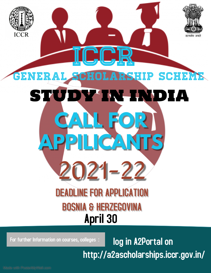 ICCR SCHOLARSHIP FOR HUNGARY AND BOSNIA & HERZEGOVINA