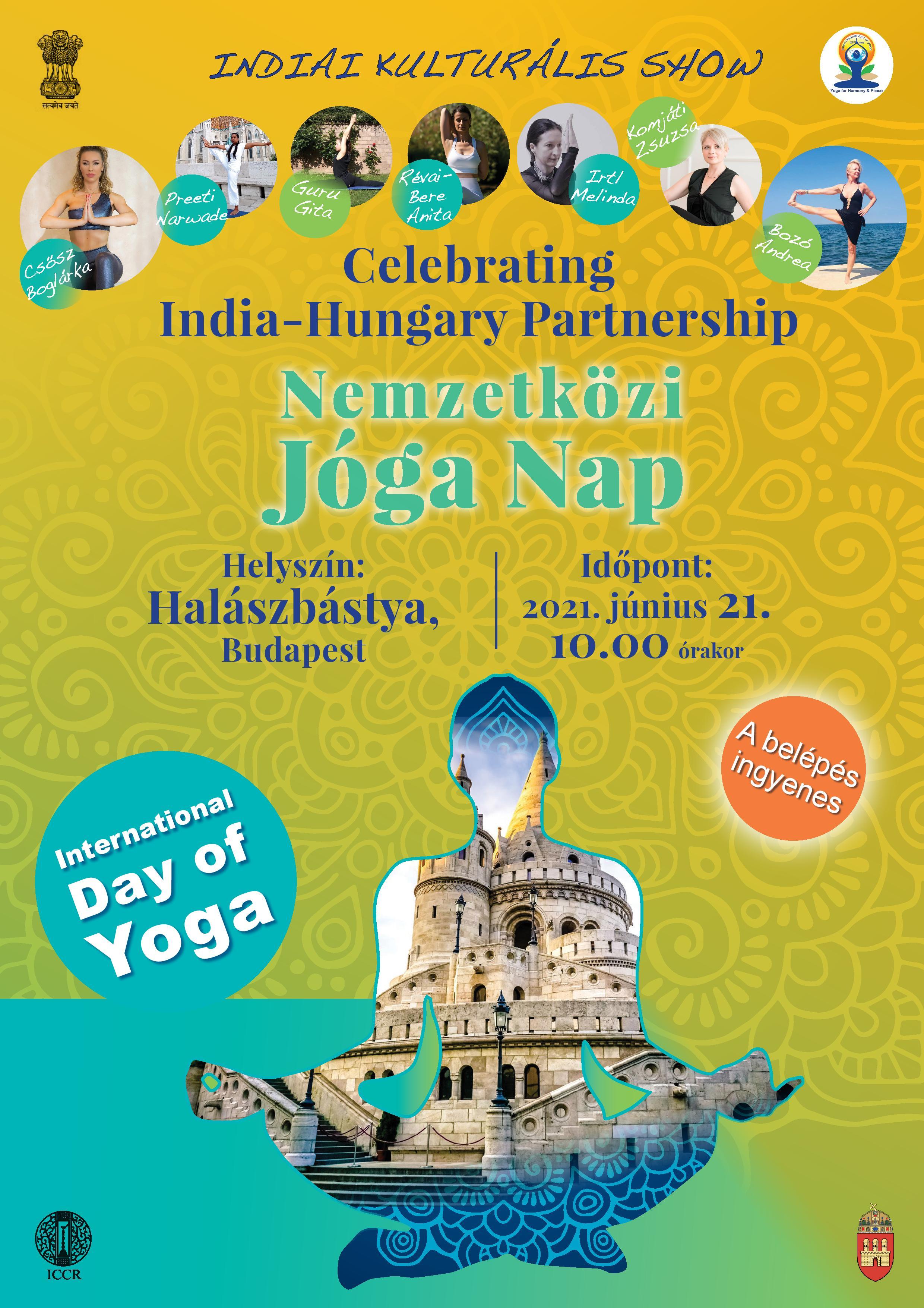 7. Nemzetközi Jóga Nap - június 21.  / 7th International Day of Yoga - 21 June
