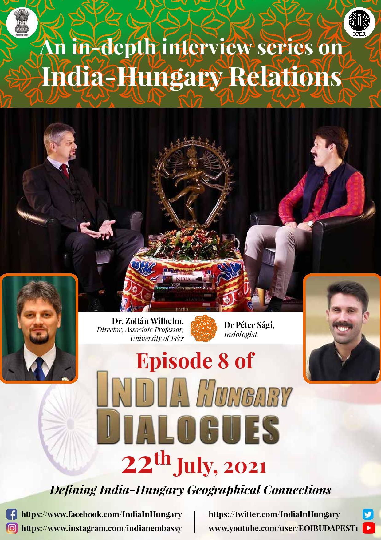 'Párbeszédben India és Magyarország' - Dr Wilhelm Zoltán
