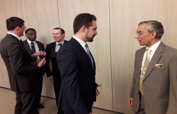 Ambassador Rahul Chhabra meets Hungary's opposition party,Jobbik Movement for a Better Hungary.