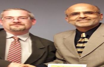 Mr. Sanjeev Manchanda and Mr. Gabor Dobos discussed India-Hungary bilateral scholarship program.