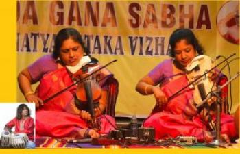 A Hegedű Királynői' – Dr M. Lalitha és M. Nandini hegedűkoncertje / Violin concert by the `Queens of Violin' – Dr. M. Lalitha and M. Nandini