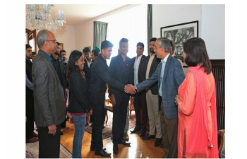 On 29th September World Skills India delegation called on Ambassador of India, Rahul Chhabra