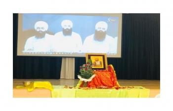 Anniversary of the first Guru Nanak Dev Ji