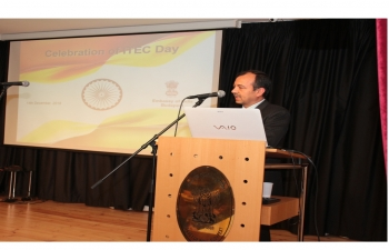 ITEC Day was celebrated successfully in the Embassy on 14 December'2018
