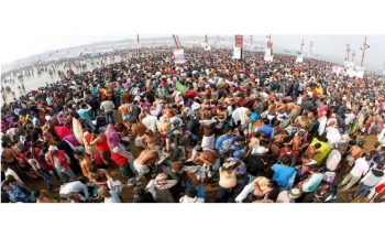 Immerse yourself in one of the biggest religious gatherings ever