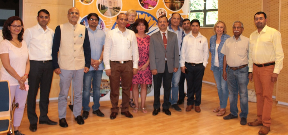 A formative meeting of the India-Hungary Business Association was held on Friday, July 5, 2019 at the Embassy. Members  called on Ambassador Shri Kumar Tuhin and briefed him on developments