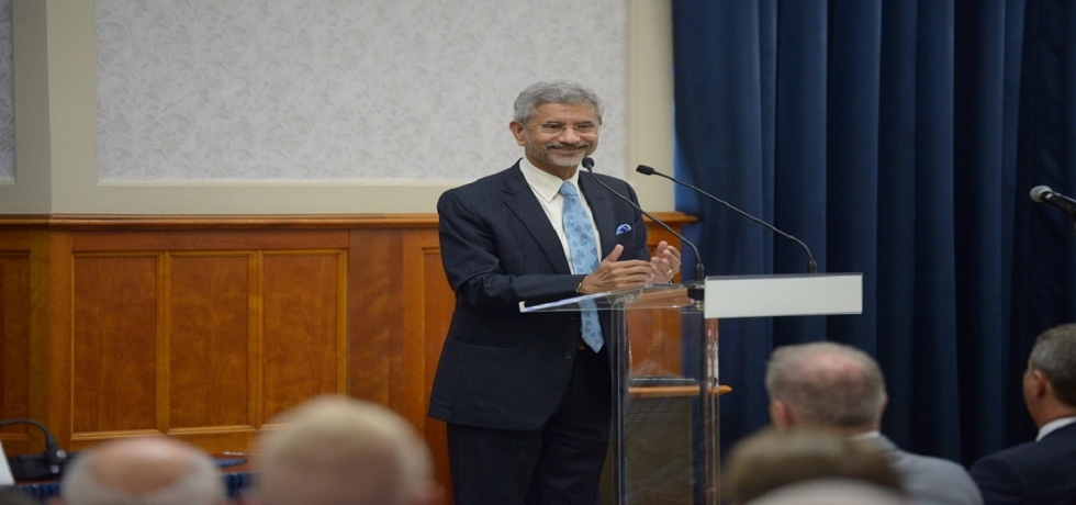 EAM Dr. S.Jaishankar addressed the Annual Conference of Hungarian Heads of Missions