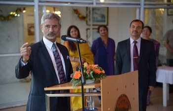 Reception given in the honour of EAM Dr. S Jaishankar at India House on 26th August.