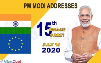 Opening Remarks of PM Modi for EU-India Summit