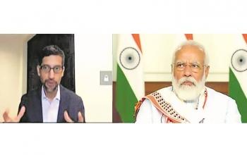 Google to invest $ 10 Billion in India