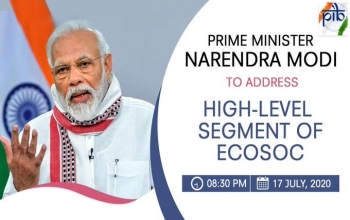 PM Narendra Modi  to address a HighLevel Segment of @UN  Economic n Social Council