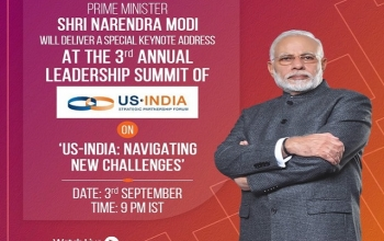 Text of Prime Minister's Special Key Note Address at US-ISPF US-India Summit 2020