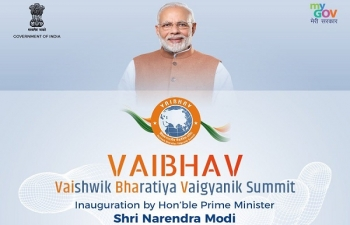 Vaibhav Summit, Oct 2, Inauguration by PM Modi
