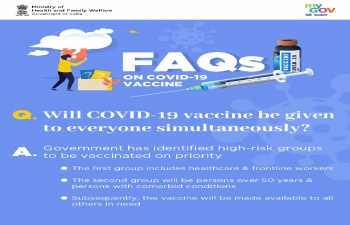 FAQs on #largestvaccinedrive in India