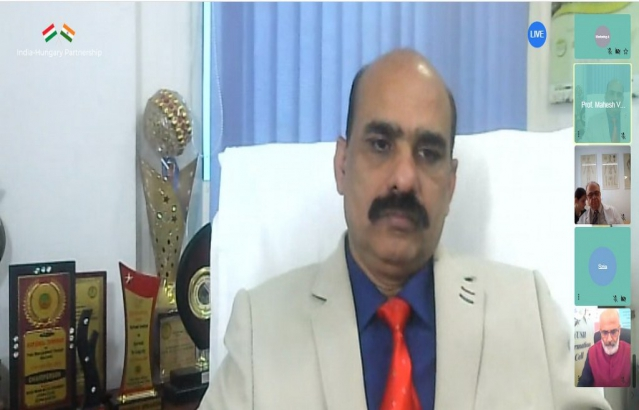 Prof. Mahesh Vyas, Dean, All India Institute of Ayurveda, New Delhi