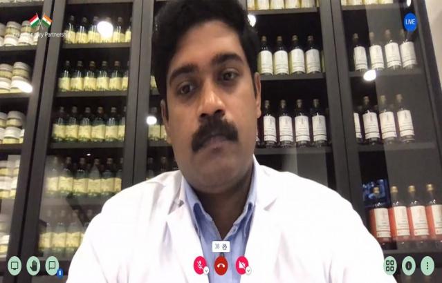 Dr. Jince Joseph, Ayurveda practitioner, Brahmayurveda, Hungary
